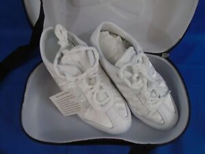 Nfinity Adult or Big kid Evolution Cheer Shoes, White, size 8
