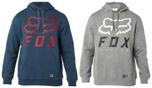 Fox Racing Men Heritage Forger Fleece Pullover MTB Hoody Jumper Sweatshirt S-XL