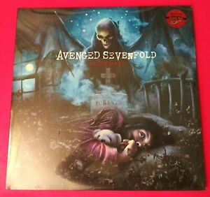 AVENGED SEVENFOLD NIGHTMARE VERY RARE NUMBERED BLOOD RED COLOR VINYL LP SET