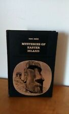 MYSTERIES OF EASTER ISLAND-FRANCIS MAZIERE---1968-HC---Lafont
