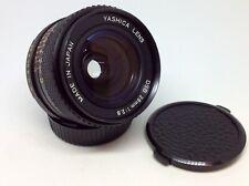 OBIETTIVO YASHICA LENS DSB 28mm 1:2.8 GRANDANGOLARE C/Y MOUNT