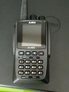 Alinco DJ-MD5XT Dual Band VHF/UHF DMR IP54 Rated HT Transceiver with GPS