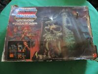 Motu masters of the universe boxed castle greyskull vtg toy He man