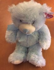 Ty Pluffies Bear Sweet Baby Light Blue Bear from 2015