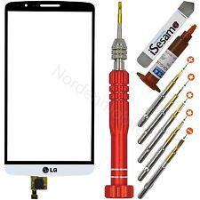 LG Optimus G3 D855 Display Touchscreen Glas Weiß + UV KLEBER + Profi Werkzeugset