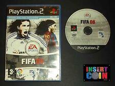 JUEGO FIFA 08    PLAYSTATION 2 PAL ESPAÑA   PS1 PS2 PS3