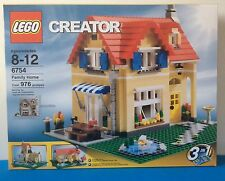 New LEGO 6754 CREATOR FAMILY HOME 3 IN 1 Cont. 976 PCS.