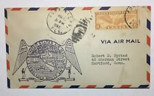1937 FIRST FLIGHT Airmail Everglades Route AM