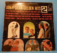 JAN & DEAN'S GOLDEN HITS VOL 2  LP 1965 ORIGINAL SURF CITY NICE COND! VG/VG!!A