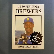 1989 Sports Pro HELENA Brewers #8 TONY DIGGS Starke FLORIDA Baseball Card