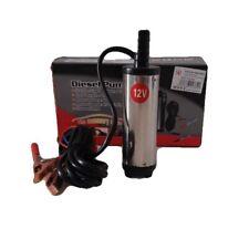 Mini Pompa A Immersione 12V Travaso Liquidi Gasolio e Olio