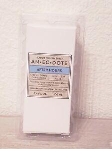 AN.EC.DOTE After Hours Eau De Toilette Spray, Unisex, 3.4 Oz