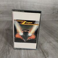 "1983 ZZ Top ""Eliminator"" Audio Cassette Tape Warner Bros. Classic Rock & Roll"