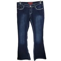 Red Rivet Womens Jeans Size 11 Medium Wash 5 Pocket Embellished Juniors JN71