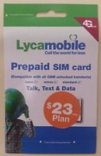 LYCAMOBILE PRELOADED 23X3 months 3 in 1 SIM  $23 PLAN INCLUDED for 3 months