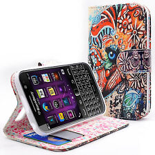 Wallet Pouch Leather Fold Stand Case For BB BlackBerry Passport  Color Elephant