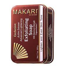 Makari Exclusive 7oz. Skin Lightening & Exfoliating Bar Soap with Organiclarine™