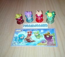 LITTLE WITCHES COMPLETE SET WITH ALL PAPERS KINDER SURPRISE 2017/2018