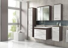"""Badmöbel Set """" COSMO 60 cm Weiss"""" Badezimmer mit Waschbecken Badezimmermöbel LED"""