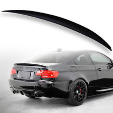 Rear Trunk Spoiler For BMW E92 3er P Style Painted Black Saphire 475