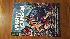 Mighty Samson # 3 Gold Key Silver Age Comic Rare Double Cover! See Photos!