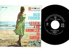 """NICO FIDENCO.LEGATA A UN GRANELLO DI / RIDI,RIDI.ITALIAN ORIG 7"""" & PIC/SL.VG+/EX"""