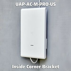 For Ubiquiti UAP-AC-M-PRO-US Mesh WiFi Inside Corner Mounting Bracket