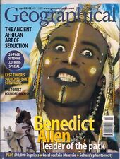 the geographical magazine-APR 2002-THE ANCIENT AFRICAN ART OF SEDUCTION.