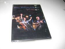 PETER BETHANY & RUFUS DVD SPIRIT OF WOODSTOCK SEALED
