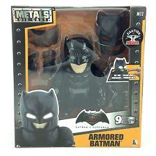 Batman Vs Superman Armored Metal Die Cast Light Up Figure M12 DC Comics Jadatoys