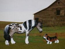 Lsq Ooak Resculpt Custom Breyer cm Pony x Williams*Pretty Pintaloosa Pony*
