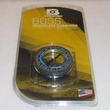 Brunton ~ Boss 10 ~ Baseplate Compass (tool free declination adjustment) U.S.A.