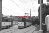 PHOTO  1997 BELGIUM GENT TRAM ST PIETERS ZUIDZIJD TRAM NO 68 ON ROUTE NO RIJSCHO