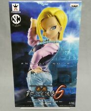 Dragon ball Z DBZ Scultures Big 6 Android 18 Banpresto Japan NEW ***