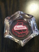 Vtg Falstaff Beer Ashtray America's Premium Quality Beer, Collectible Ashtry