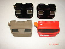 VIEWMASTER ESTATE LOT - 4 VIEWMASTERS & MANY REELS (SEE PHOTOS)