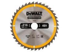 DEWALT DT1155 Series 30 Construction Circular Saw Blade 216mm X 30mm X 40 Tooth