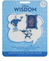 Disney Wisdom Collection October Genie Pin Set Limited Release IN HAND New