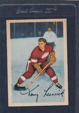1953/54 Parkhurst #043 Tony Leswick Red Wings VG/EX 53PH43-122115-1
