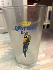 Corona Metal Beer Bucket And 4 Large Beer Glasses