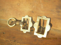 old military belt- Parts & Accessories in brass -19th century