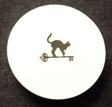 Vintage CAT CAY Bahamas Resort Cat Key Logo Paper Coaster