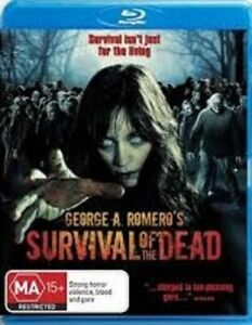 """"""" SURVIVAL OF THE DEAD (2010) """" BLU-RAY ~ HORROR ~ GEORGE A. ROMERO ~ LIKE NEW"""