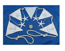 Pastel Marine Bunting 125 Cm Long - Nautical Garland Decoration -flags Starfish