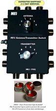 MFJ 1700C Deluxe Antenna/Transmitter Switch, 6 Poles, HF, 2000 Watts