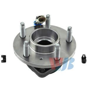 Wheel Bearing and Hub Assembly-AWD Front,Rear WJB WA513121HD