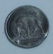 1 GRAM TANTALUM ROUND .999 FINE INDIAN BUFFALO BULLION ART ROUND