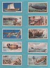 WHALING  -  PLAYERS OVERSEAS  -  RARE  SET  OF  25  WHALING  CARDS  -  1930