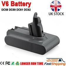 HOT!For Dyson V6 Vacuum Replace Battery, V6 Animal, DC58 DC59 DC61 DC62 UK