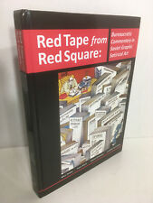Red Tape from Red Square: Soviet Graphic Satircal Art 2010 Hardcover Rutgers Uni